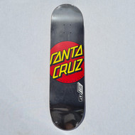 "Santa Cruz - Classic Dot Deck - 8.25"" - Black"