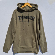 Thrasher Hoody Skate Mag - Army Green