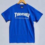 Thrasher Skate Mag Tee - Blue