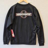 Independent Skateboards Pinline Crew Sweatshirt - Black