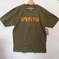 Spitfire Skateboards Flame Logo Tee - Green