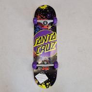 """Santa Cruz Micro Complete Skateboard Dot Splatter - 7.5"""""""