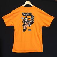 Primitive Skateboards X Naruto - Dirty P Tee - Orange
