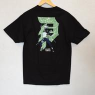 Primitive Skateboards X Naruto - Kakshi Dirty P Tee - Black