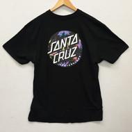 Santa Cruz Skateboards Splatter Dot Tee - Black