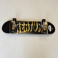 Creature Skateboards - Logo Black Gold -  8.25 Inch Wide