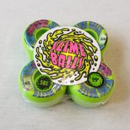 Santa Cruz Slime Balls Skateboard Wheels - Green - 58mm 99a