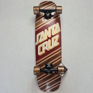Santa Cruz Metallic Gold/Burgundy Cruiser Complete - 29 Inch