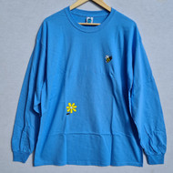 Leon Karssen Bumble Beez Long Sleeve Tee - Blue