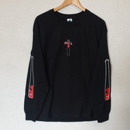 Leon Karssen Pain Long Sleeve Tee - Black