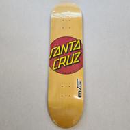 "Santa Cruz - Classic Dot Deck - 7.75"" - Yellow"