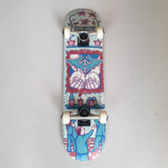 "Fracture X Adswarm 7.25"" Mini Complete Skateboard"