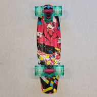 "Madd Retro Skateboard - 22.5"" Crusier Skateboard - Panda"