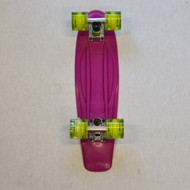 "Madd Retro Skateboard - 22.5"" Crusier Skateboard - Purple"