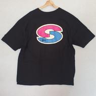 Stussy - Super S Tee - Black