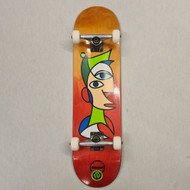 Almost Twisted Face Complete Pro Skateboard 8""