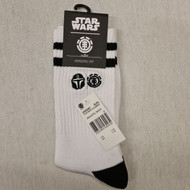 Star Wars x Element Socks - White