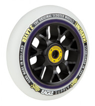 Eagle Supply 115mm Snowballs Stunt Scooter Wheel - White / Black
