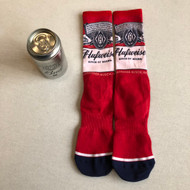 Huf X Budweiser Socks in a can - Red