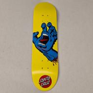 "Santa Cruz x Screaming Hand Deck - 7.75"" - Yellow"