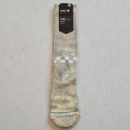 Stance Checkness Skull Logo Socks - White