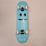 "Fracture Little Monster 7.75"" Complete Skateboard - Blue"