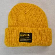 5BORO NYC Rolled Beanie - Yellow