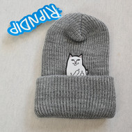 RIPNDIP Lord Nermal Beanie - Grey