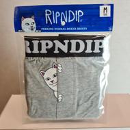 RIPNDIP - Peek A Nermal Boxers - Grey
