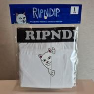 RIPNDIP - Peek A Nermal Boxers - White