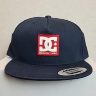 DC Snapback Hat in Navy - Navy