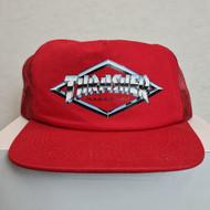 Thrasher Magazine - Diamond Trucker Snapback Hat - Red