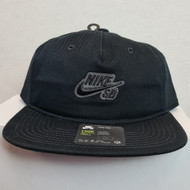Nike SB Icon Pro Snapback Hat - Black