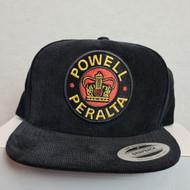 Powell Peralta Snapback Hat - Black