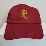 Santa Cruz - Outline Sceamimng Hand Strapback Cap - Red