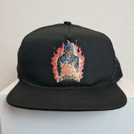 Santa Cruz Skateboards Fire Pit Snapback Hat - Black