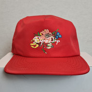 Ripndip Flower Snapback Cap - Red