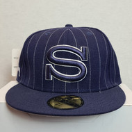 Stussy New Era Hat - Blue - 7.25 Inch SIze (Ex Display)