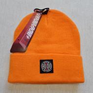 Independent Skateboards T/C Label Beanie - Orange