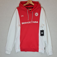 DC - Snowstar - Water Resistant Hoodie - White/Red