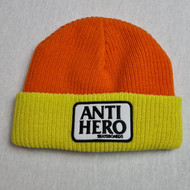Anti Hero Cuff Beanie - Yellow/Orange