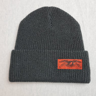 Anti Hero Eagle Patch Beanie - Charcoal Grey