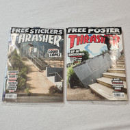 Thrasher May and October Editions - FREE POSTER AND FREE SHEET