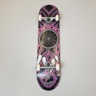 "Enuff Dreamcatcher 7.75"" Complete Skateboard - Grey/Pink"
