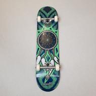 "Enuff Dreamcatcher 7.25"" Mini Complete Skateboard - Blue/Teal"