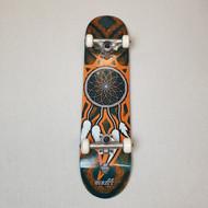 "Enuff Dreamcatcher 7.25"" Mini Complete Skateboard - Teal/Orange"