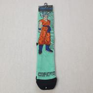 Primitive Skateboards X Dragon Ball Z DBZ SSG Goku Socks