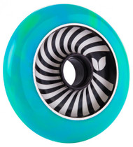 Blazer Pro Scooter Wheel Vertigo Aluminium Swirl - Green/Blue