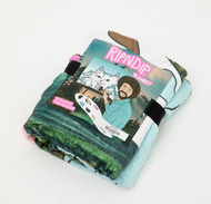 RIPNDIP - Bob Ross Beautiful Mountain Blanket