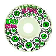 Heroin Skateboard Wheels - Glow in the Dark Eyes